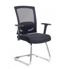 Fabric  Mesh Visitor Chair GEM101Ci-K